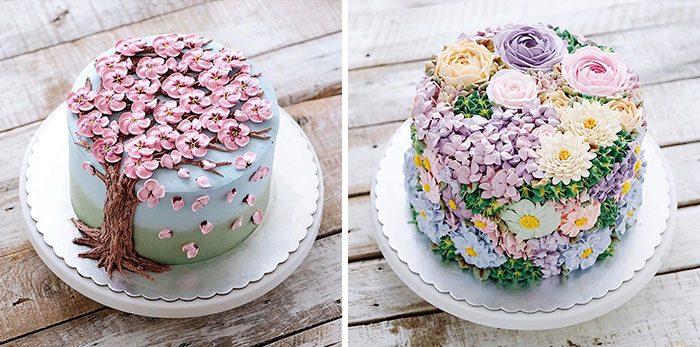 10+ цветочных тортов, чтобы отпраздновать приход весны