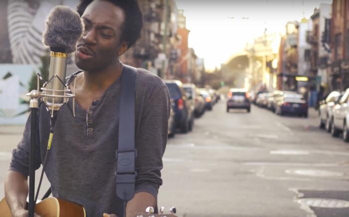 Русский рок в исполнении афроамериканского нью-йоркца: это достойно Евровидения!