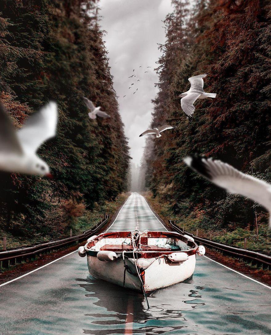 сюрреалистическое фото